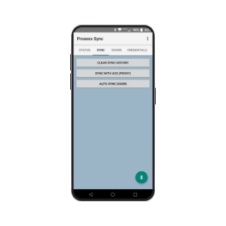 Proxess management phone application.