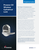CX Cylindrical Lockset pdf.